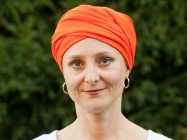 Turban oranžová