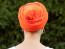 Turban oranžová zad